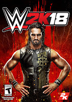 WWE 2K18 Game Cover PC