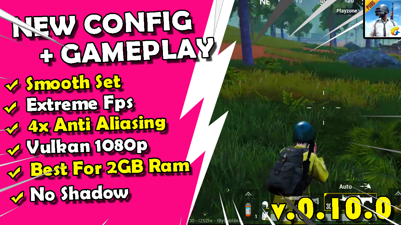 Config Pubg Mobile Low Smooth Extreme 120fps No lag Terbaru
