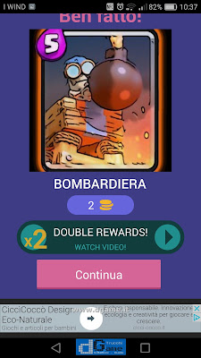 Indovina la carta Royale soluzione livello 44