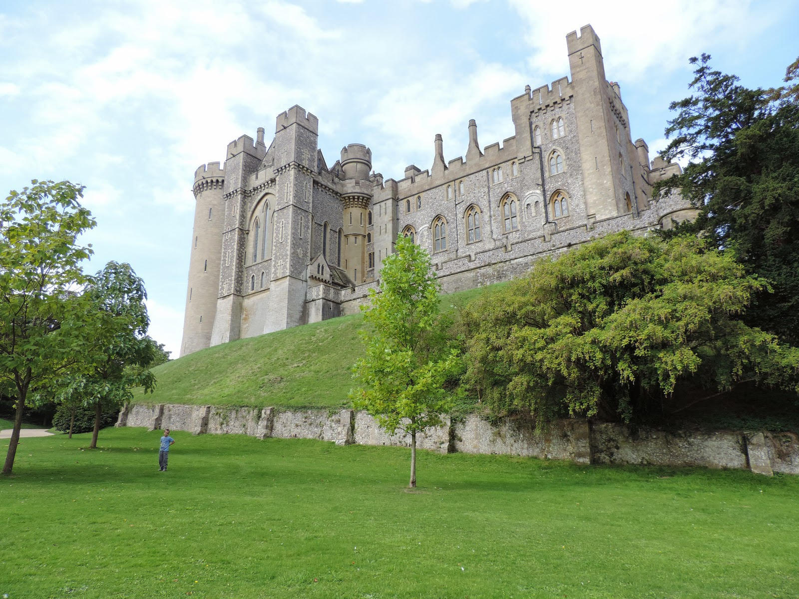 arundel medieval castle stately home