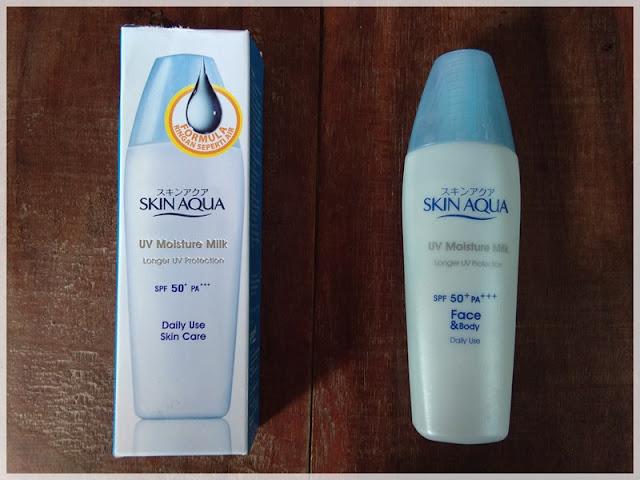Skin Aqua Moist Milk UV