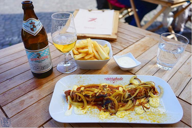 Le Chameau Bleu - Currywurst à Heidelberg - Curry and Wine