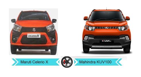 Maruti Celero x vs Mahindra KUV100 | IMFROSTY