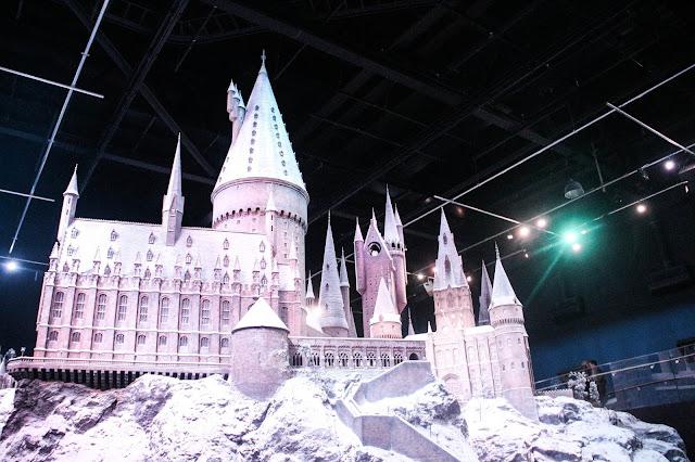 Maquette Poudlard des Studios Harry Potter