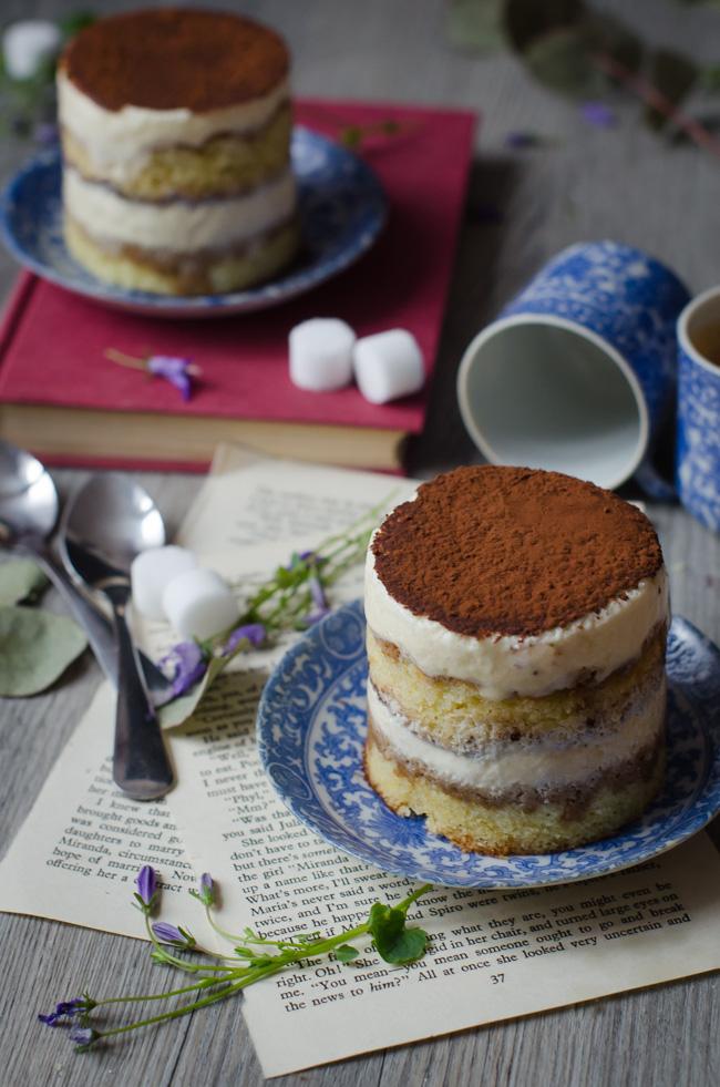 Mini layer cake façon tiramisu