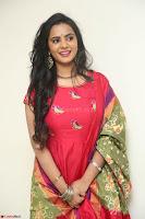 Manasa in Pink Salwar At Fashion Designer Son of Ladies Tailor Press Meet Pics ~  Exclusive 51.JPG