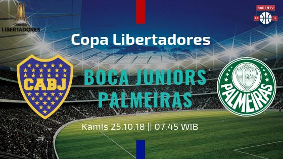 Streaming Boca Juniors vs Palmeiras