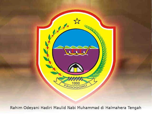 Rahim Odeyani Hadiri Maulid Nabi Muhammad di Halmahera Tengah