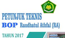 Download Juknis BOP RA Tahun 2017