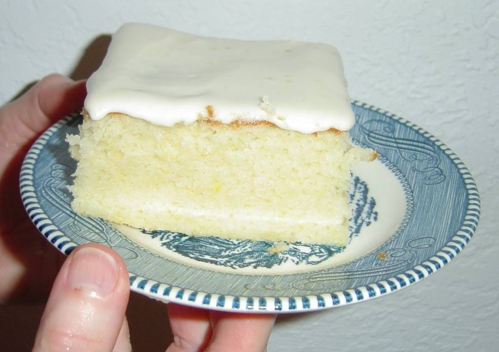 My Honey-Lemon Icing Recipe
