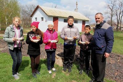 14 квітня у Ольгинській школі відбувся День козака.