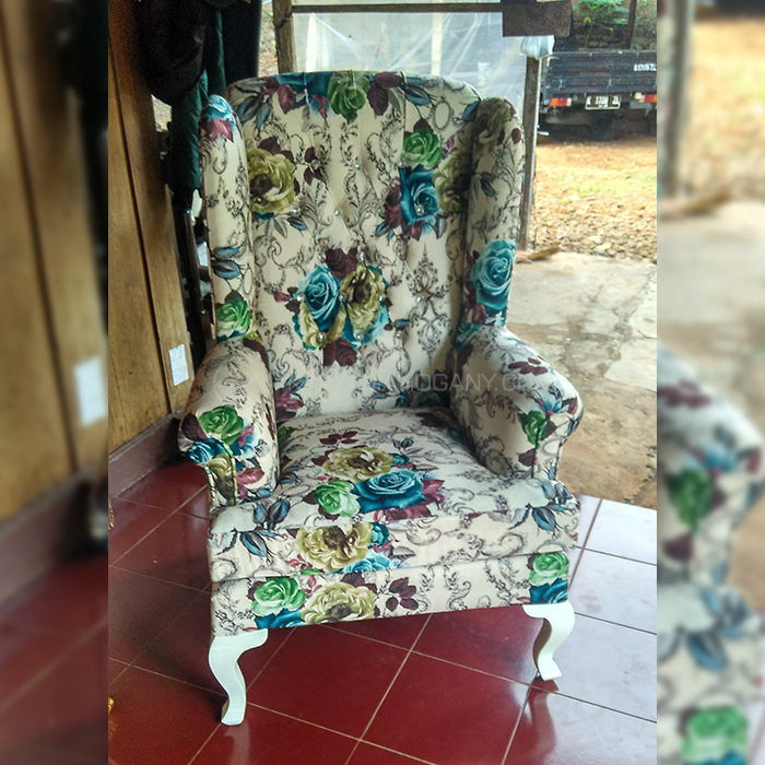 Kursi Wingback Shabbychic | Furniture Shabby chic