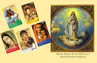 OMP, misioneros, Virgen María