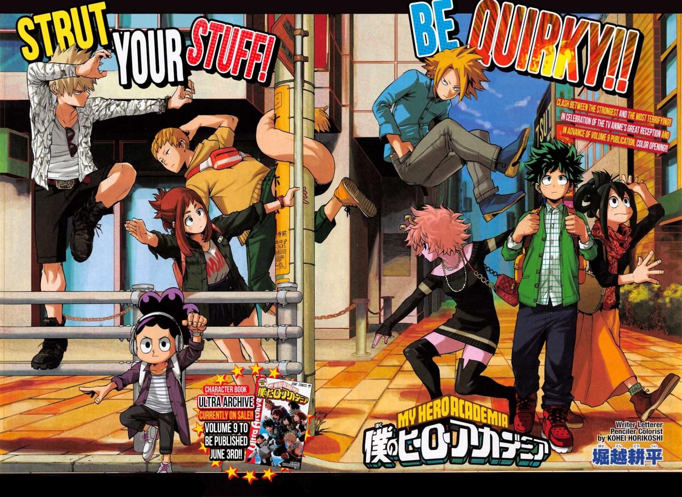 Boku no Hero Academia - Chapter 106