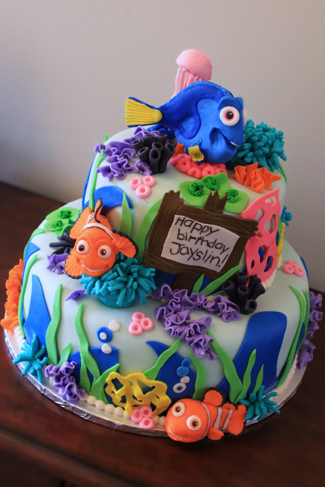 Layers Of Love Finding Nemo Cake