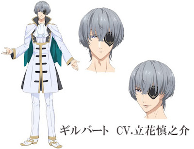 "Anime: Nuevo vídeo promocional y mas diseños para ""Yume Oukoku to Nemureru 100-Nin no Ouji-sama"""