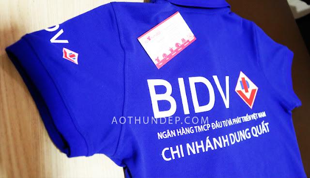 May Đồng Phục Ngân Hàng BIDV Đầu Tư Và Phát Triển Việt Nam