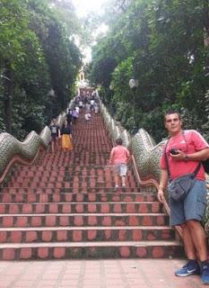 Wat Phrathat Doi Suthep, Chiang Mai.