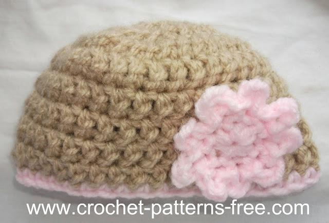 free Crochet Pattern for a crochet flower easy