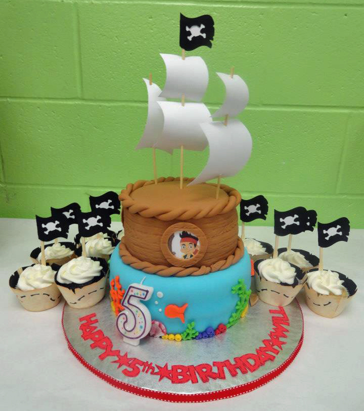 jake and the neverland pirates cupcakes - photo #33