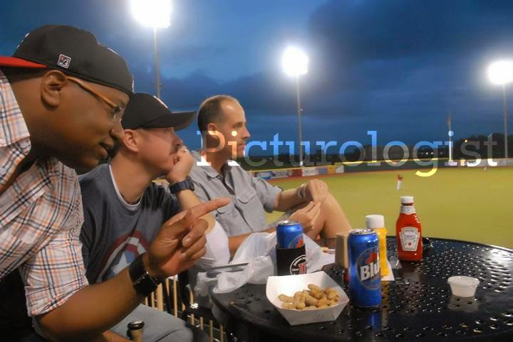 Men at a @LECrushers Game | @MryJhnsn iNeed a Playdate