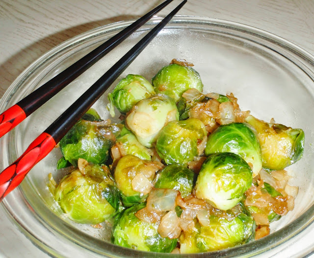 Asia Brussels sprouts