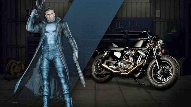 the punisher Harley Davidson