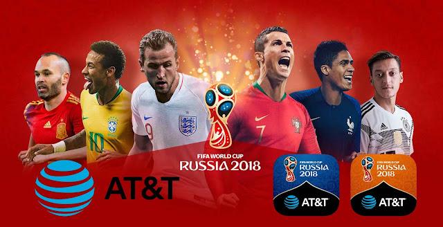 AT&T transmitirá el mundial de fútbol Rusia 2018 gratis
