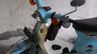 Dijual Motor Antik C70 Honda Buruan Kolektor