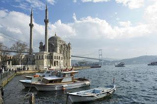 Pemandangan Jembatan Bosphorus