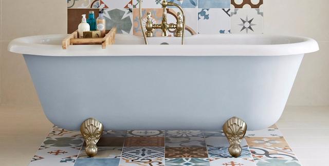 Motif Keramik Kamar Mandi Paling Bagus Terbaru