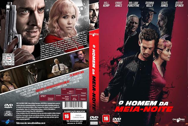 Capa DVD O Homem da Meia-Noite [Exclusiva]