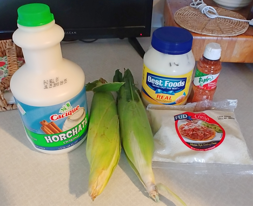 Elote Mexican Street Corn ingredients