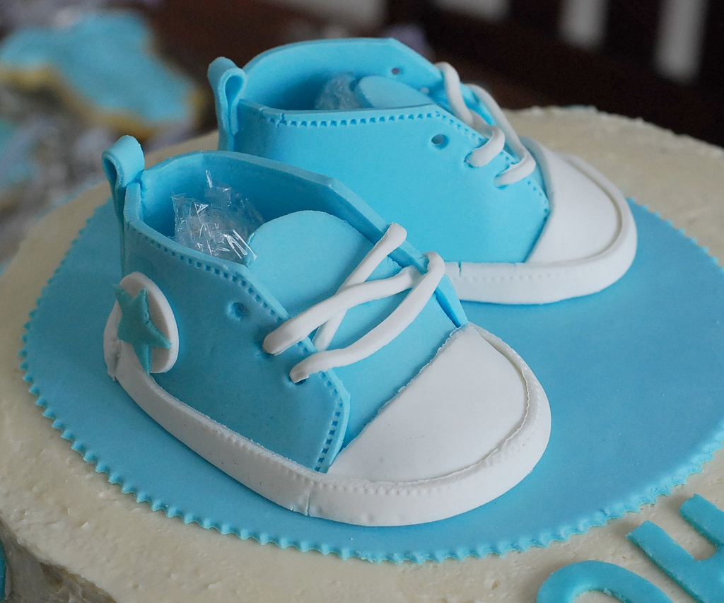 fd22eb1b1c57 Baby Booties Template For Cake