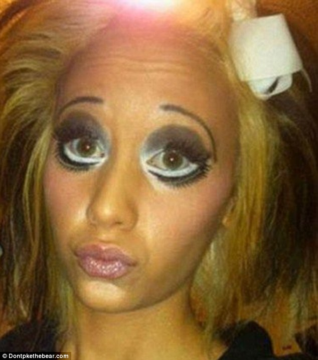 See Here: Are these the world's worst make-up disasters ...