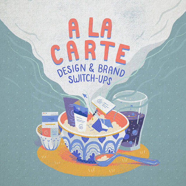 Branding Ilustración Lena Vargas