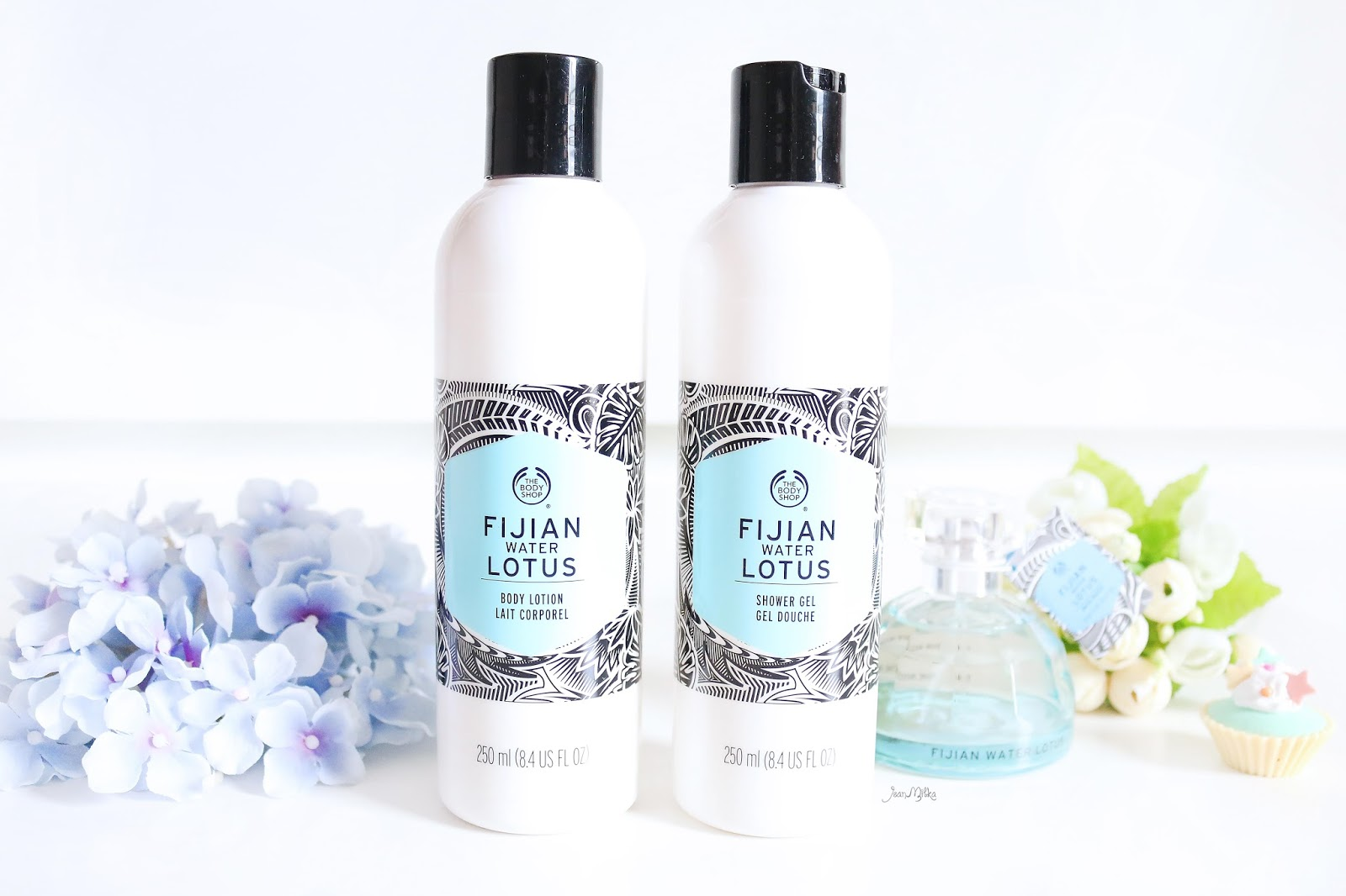 the body shop, body shop, review, beauty, skincare, fijian water lotus, the body shop voyage collection, voyage collection, body lotion, shower gel