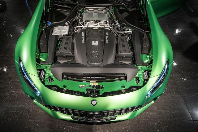Mercedes AMG GT-R Horsepower