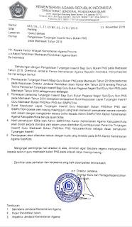 Pengelolaan Tunjangan Insentif Bukan PNS pada Madrasah