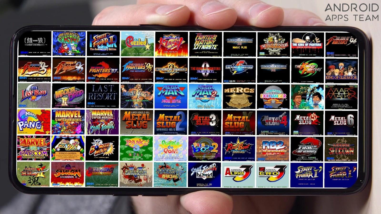 Kawaks Arcade Emulador v5 2 5 [APK] NUEVO Y POTENTE EMULADOR DE NEO