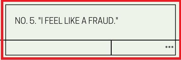 Question NO.5 I feel like a fraud