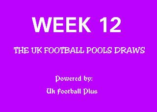 The UK football pools draws