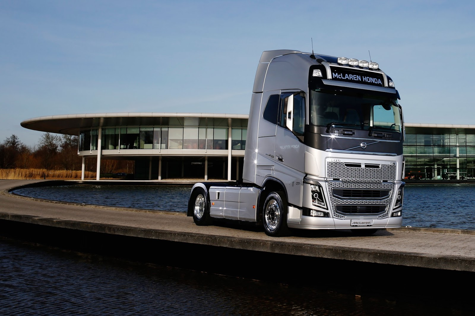 Volvo Trucks Announced As Official Truck And Haulage Supplier To Mclaren Honda