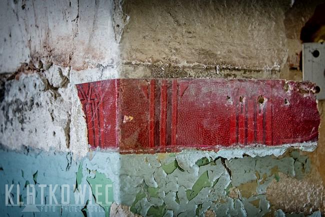 Świnoujście: fragment przedwojennej tapety