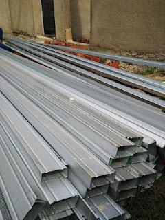 bahan material baja ringan