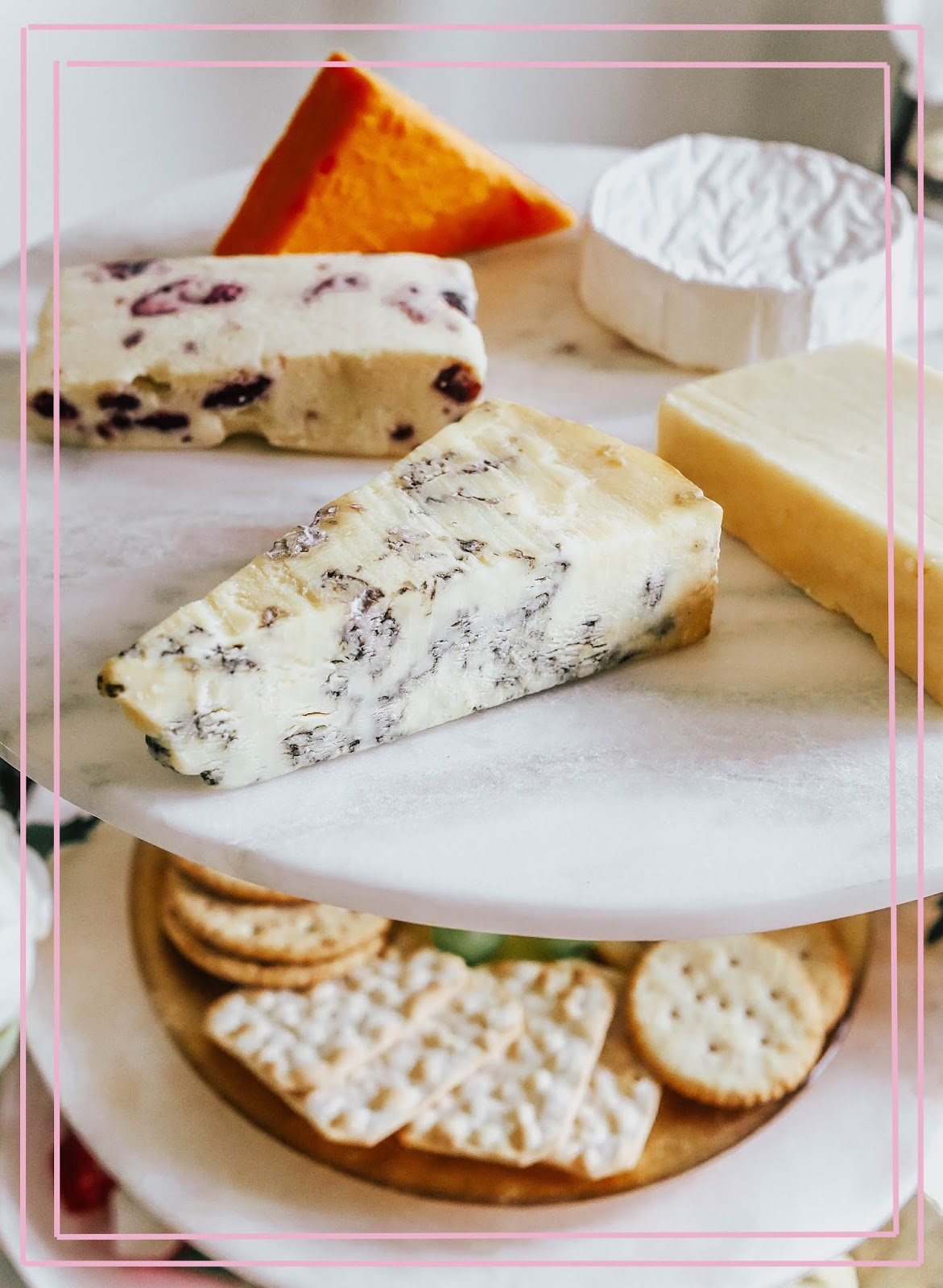 Luxury Food Cheeseboard Selection