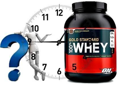 Los momentos del día para tomar tu whey protein para poder adelgazar