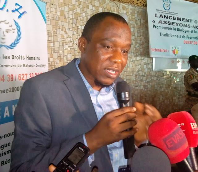Monsieur Mamadou Diallo chargé de programme à la fondation OSIWA