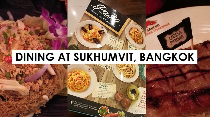 Where to Dine at Sukhumvit, Bangkok