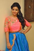 Nithya Shetty in Orange Choli at Kalamandir Foundation 7th anniversary Celebrations ~  Actress Galleries 033.JPG